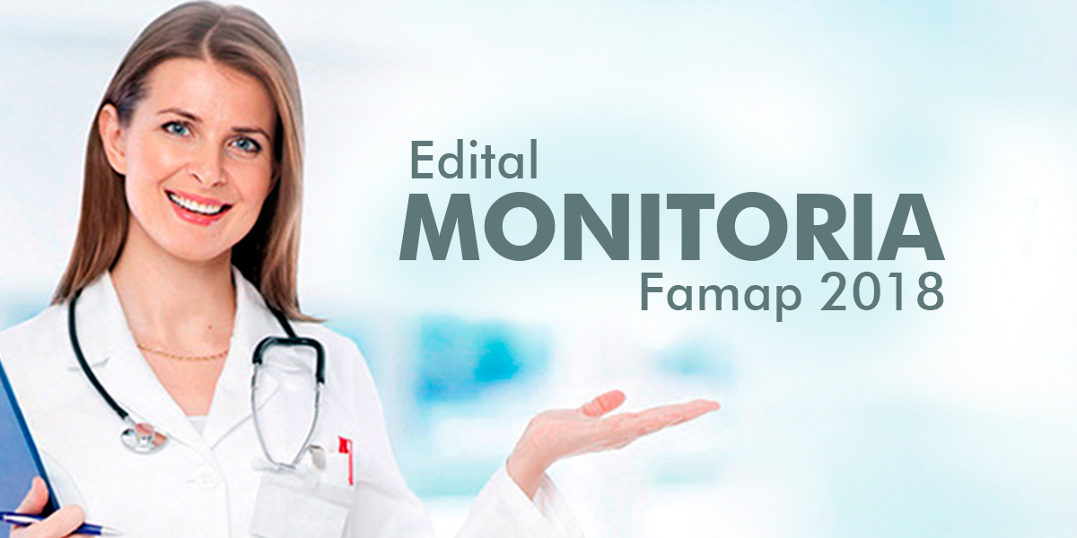 Monitoria FAMAP 2018